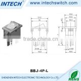 10000 cycles rocker switch t85