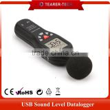Hot selling accuracy digital sound level meter with large LCD display backlight TL-202