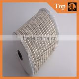 Garment accessories supplier 24rows Crystal trimming with rhinestone adhesive trim                                                                         Quality Choice