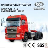 CAMC 6x4 Tractor (Engine Power: 375HP, Traction Weight: 100T) of semi trailer tractor truck