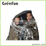 Wholesale Waterproof Solar Aluminum Foil Emergency Mylar Blanket , High Quality China Factory Manufacture Heated Blankets Set