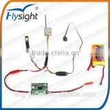 G2659 Flysight CM100T 5.8g wireless 200mw fpv TX transmitter module with 1g mini fpv camera for mini RC drone