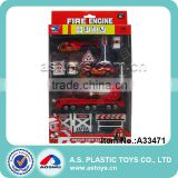 Die Cast Fire Protection Set/Alloy Toys Playing Set/Boys Favor Game Set