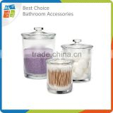 Transparent Clear Cotton Ball Plastic Container