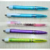 Clear plastic pen tubes remove pen ink plastic