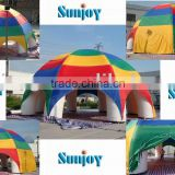 new product charm Hollow inflatable spider tent inflatable dome inflatable marquee camping tent