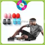 Hot sell silicone massage Double Lacrosse Ball