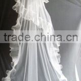one layer floor touch bride veils/american net long veils bridal veil/wedding veil/bridal accessories 037
