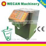 Stainless Steel Fructose Syrup Dispenser Machine Coffee Sugar Despensing Fill Machine For Bubble Tea