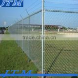 (17 years factory)1000' storage unit chain link fence package with gate and barbed wire