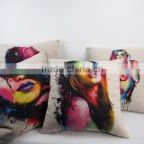 Creative latest design cushion covers for outdoor furniture custom large pillow cases throw pillow covers