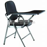 cheap outdoor plastic used metal folding chair and table folding furniture sale AH-007