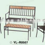 rattan set [Custom high-end environmentally friendly and durable, minimalist style mosaic furniture ]