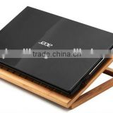 Welcome custom Bamboo laptop stand Bamboo foldable laptop stand