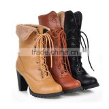punk stlye girls fashion high heel boots XW258