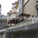 Customized Wooden Gazebo Pergola in Hongyu Garden Sanming City