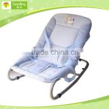 Baby swing chair easy folding, baby rocking chair with three-point belts