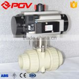 flange pph pneumatic ball valve actuator with limit switch