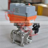 smart regulation type fine small electric cylinder actuator with ball valve