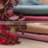 2016 newest dobby fabric pearls suede blackout curtain fabric embossed blackout curtain