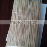 Doner kebab high dried bamboo stick for massage varnished wooden mop sticks bamboo bbq stick
