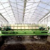 Animal manure compost turning machine //0086-18703616536