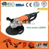 230mm 1800w power tools universal tool grinder Angle grinder