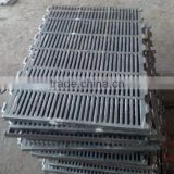 Agricultural Machine Factory casting iron products for pig farming equipment,casting iron flooring for farrowing crate