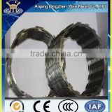 wholesale alibaba China CE&ISO certificated razor blade barbed wire(pro manufacturer)