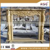 marble fireplace parts for electric fireplace heater