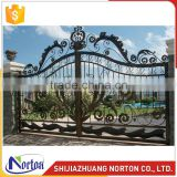 Norton factory sliding wrought iron driveway gate NTIRG-008LI