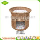 Natural eco friendly woven pet house for dog