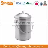 2015 Hot Sale Kitchen Stainless Steel Compost Bin
