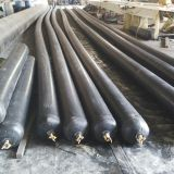 culvert rubber balloon exported to kenya, Nigeria  inflated balloon used for making concrete culvert