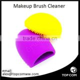 Cleaning MakeUp Washing Brush Silica Glove Scrubber Board Cosmetic Clean Tools