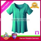 High quality stock lot blank temperature colour change t shirt