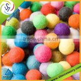 high quality wool felt ball/carpet felt balls