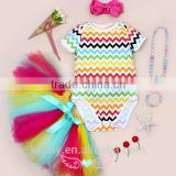 Infant Clothes From China Newborn Baby Romper Long Sleeve 5pcs Set Romper Tutu