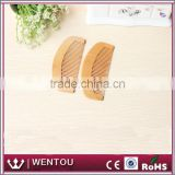 Personalized Health Care Natural Peach Wood Hair Comb