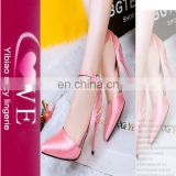 Plus Size Korean Ladies Sandals Photos Pink Gold Character Shoes Cheap low heel shoes Ladies Sandals Shoes Women