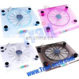 Fashion USB Notebook Laptop Cooler Pad Notebook Cooling Pad with LED Light