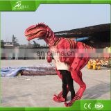 KAWAH Customized Lifelike Realistic Walking Adult Raptor Dinosaur Costume