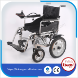 power wheelchair with wheelchair battery