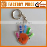 Customized Logo OEM Designed Liquid Keychain