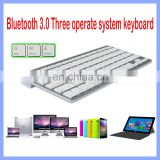 10 inch portable ultra thin slim wireless bluetooth keyboard for pad laptop tablet pc