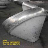 Forged steel tank end dished conical head in concrete mixing machine