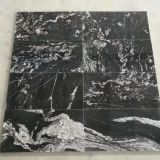 Jet Black Granite Flooring Granite Tiles Leather Polished Antislip Tiles