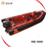 5.8m RIB BOAT/RIGID INFLATABLE BOAT 5.8/RIB 580 BOAT/hyplaon 580 rib boat