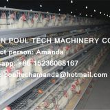 Galvanized Steel Cage Battery Cage Layer Breeder Chicken Cage/Coop for Poultry Farm
