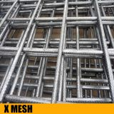 High strength ribbed profile concrete reinforcing wire mesh for concrete